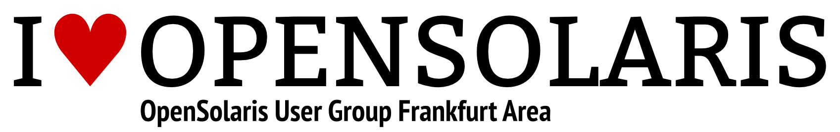 Logo of OpenSolaris User Group Frankfurt Area