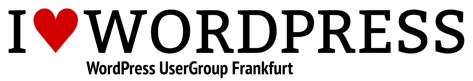 Logo of WordPress UserGroup Frankfurt